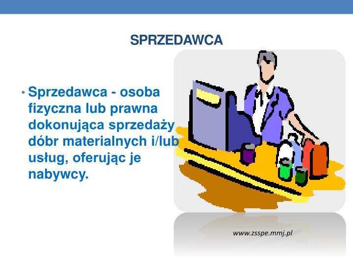 SPRZEDAWCA