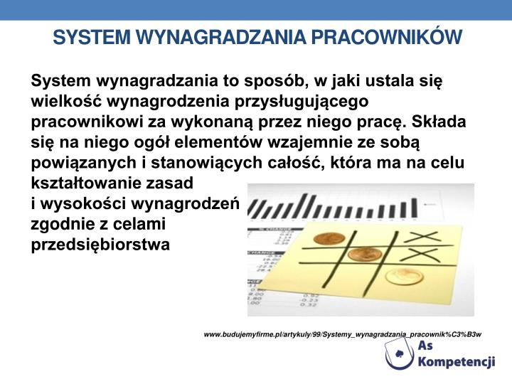 System wynagradzania pracowników