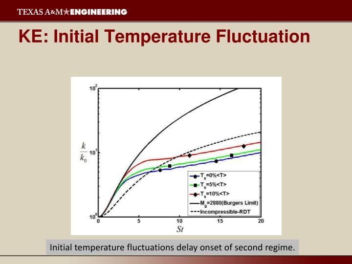 KE: Initial Temperature Fluctuation
