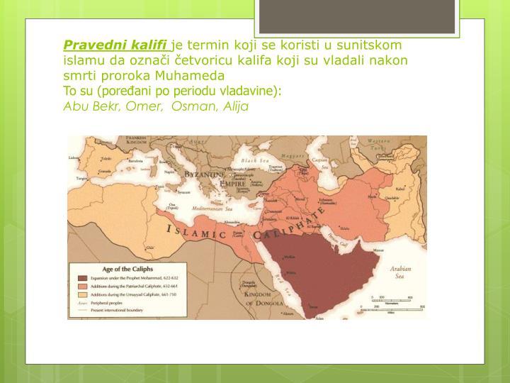 Pravedni kalifi