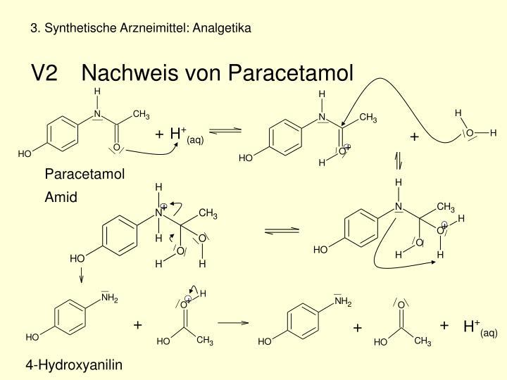 3. Synthetische Arzneimittel: Analgetika