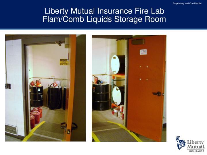 Liberty Mutual Insurance Fire Lab