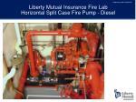 liberty mutual insurance fire lab horizontal split case fire pump diesel