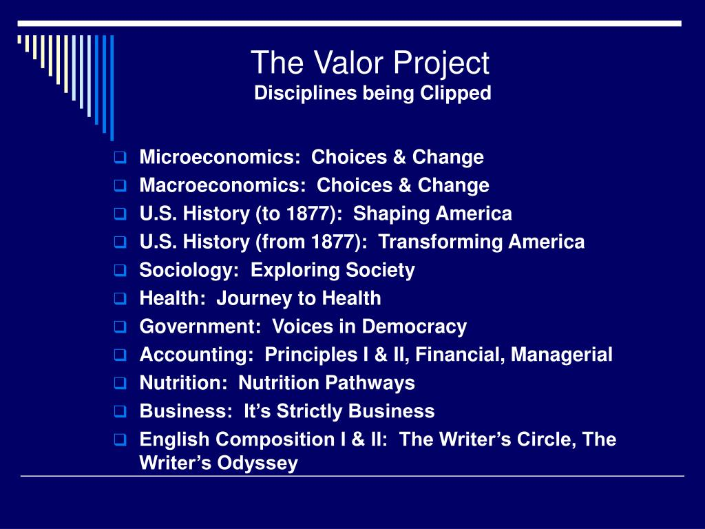The Valor Project