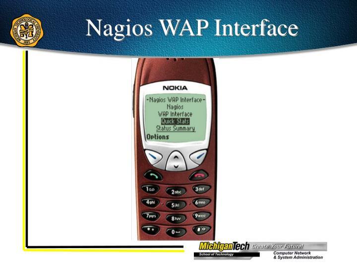 Nagios WAP Interface