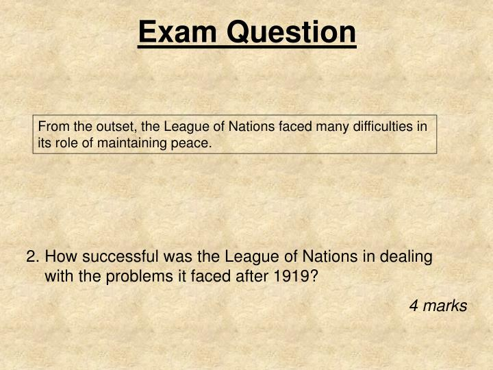 Exam question1