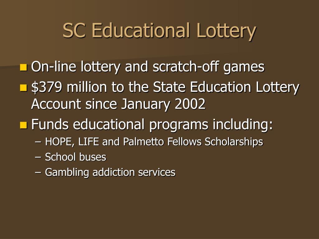 SC Educational Lottery