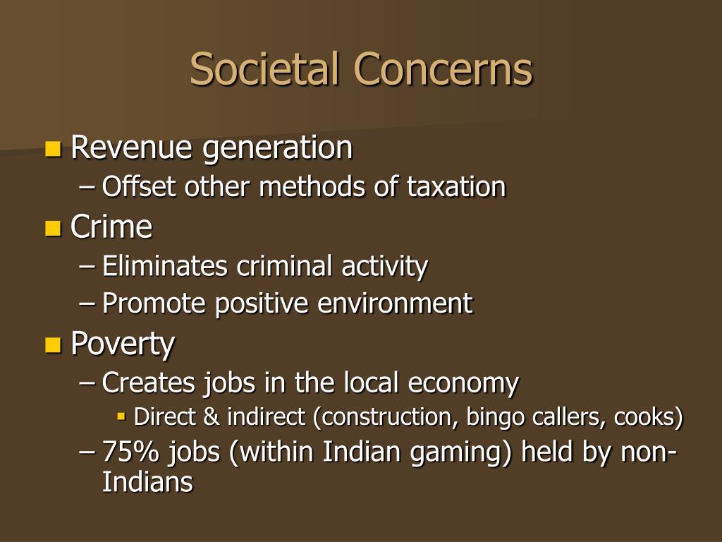 Societal Concerns