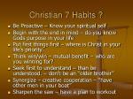 christian 7 habits