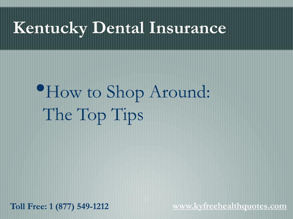 Kentucky Dental Insurance