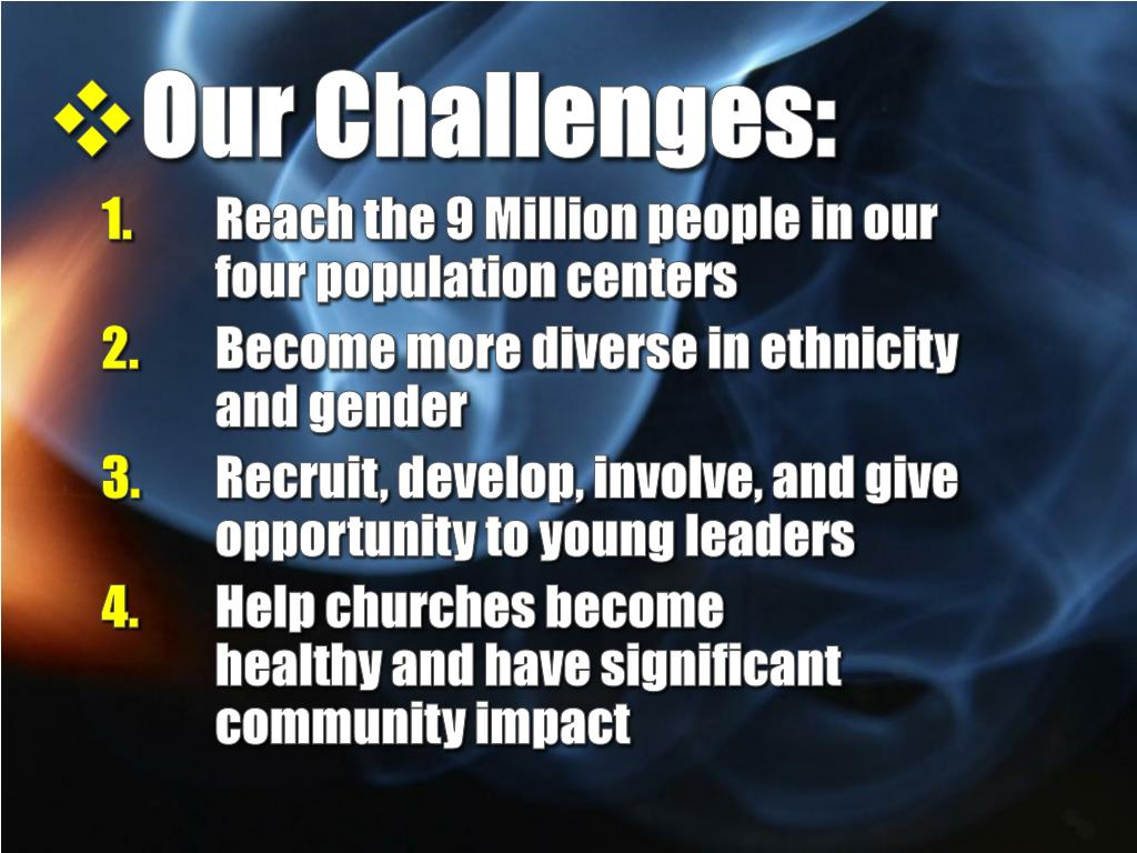 Our Challenges: