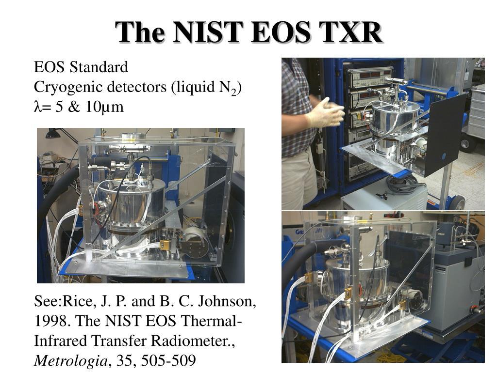 The NIST EOS TXR