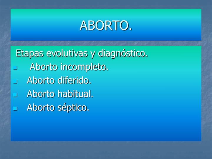 ABORTO.