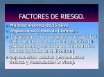 factores de riesgo1