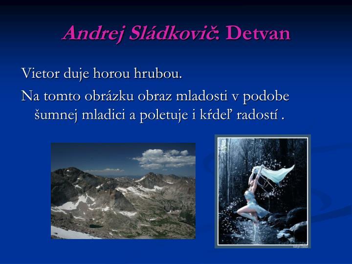 Andrej Sládkovič