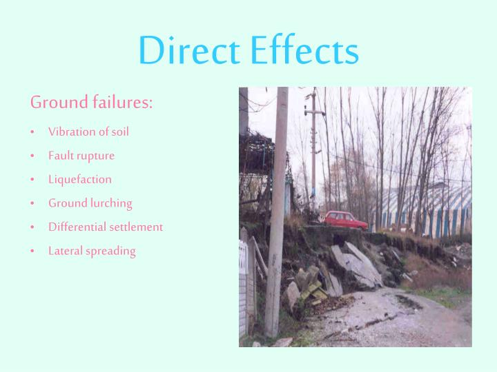 Direct effects