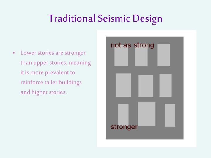 Traditional Seismic Design
