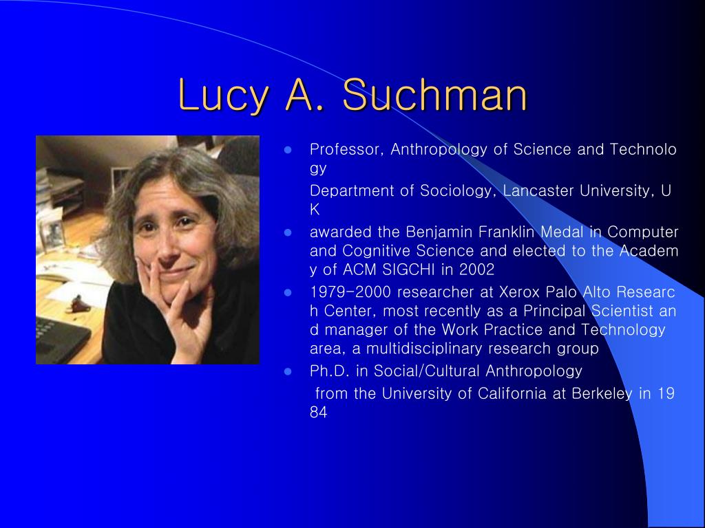 Lucy A. Suchman