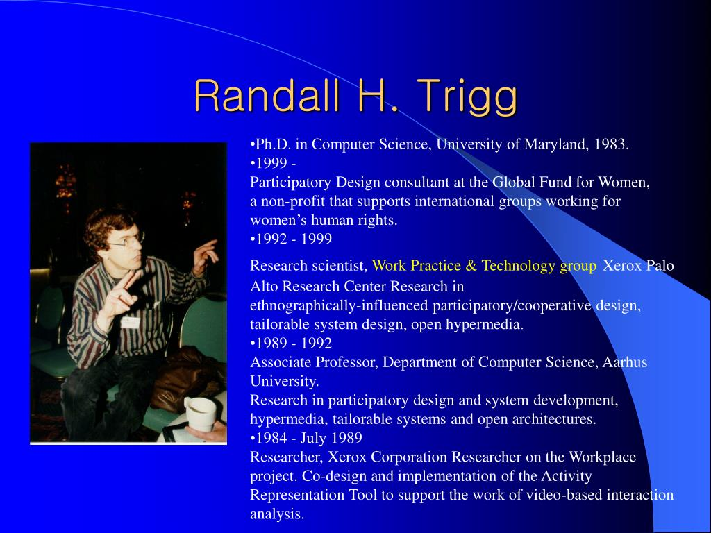 Randall H. Trigg