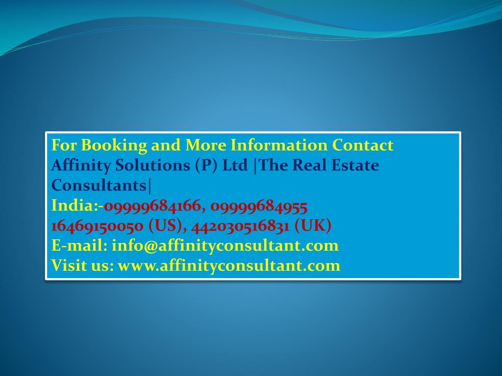 For Booking and More Information Contact