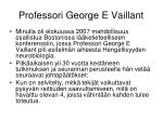 professori george e vaillant