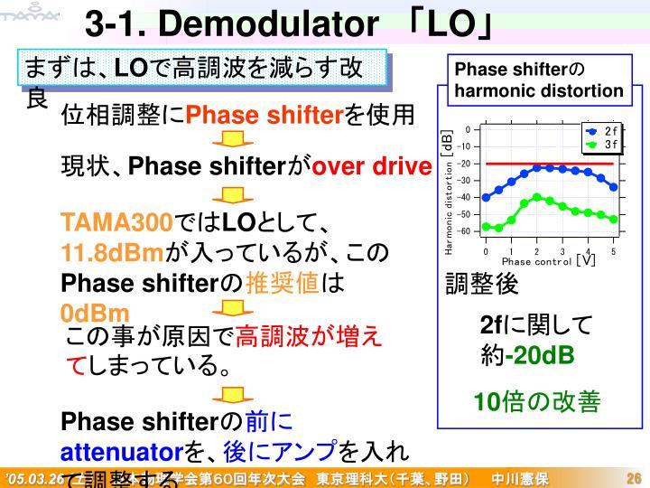 3-1. Demodulator