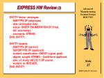 express hw review 327