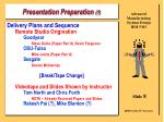 presentation preparation 1