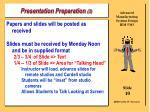 presentation preparation 3