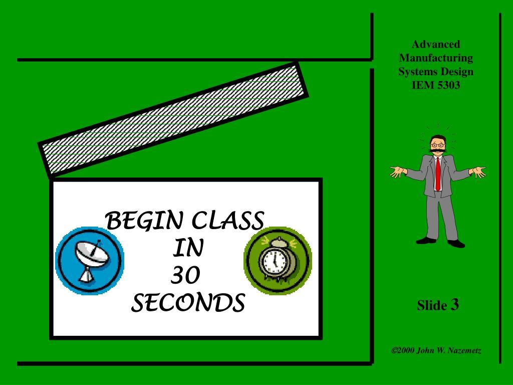 BEGIN CLASS