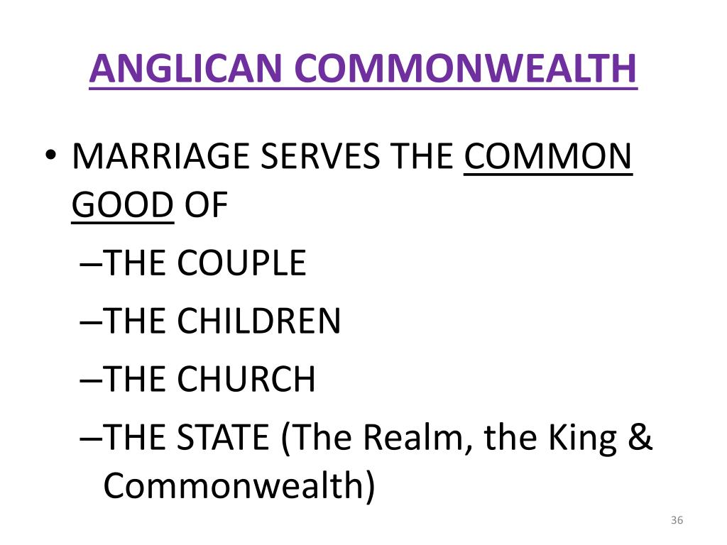 ANGLICAN COMMONWEALTH