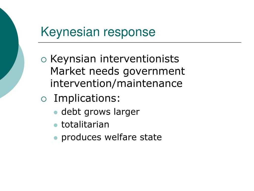 Keynesian response