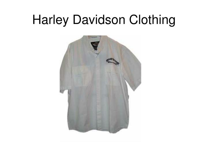 Harley davidson clothing2