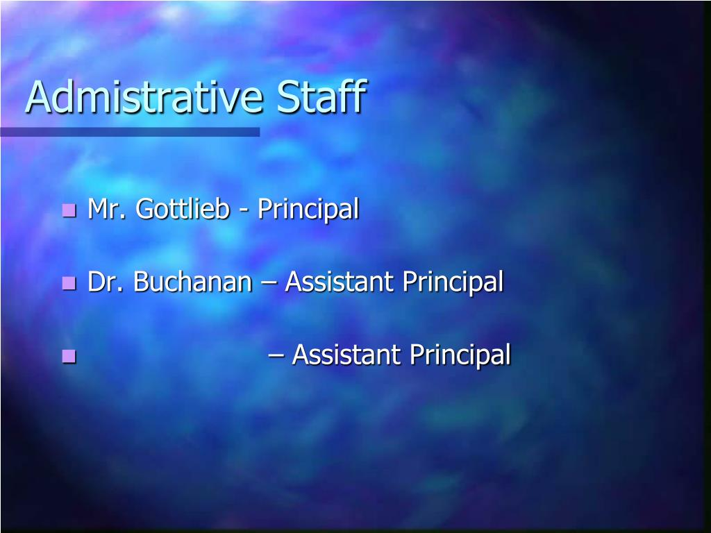 Admistrative