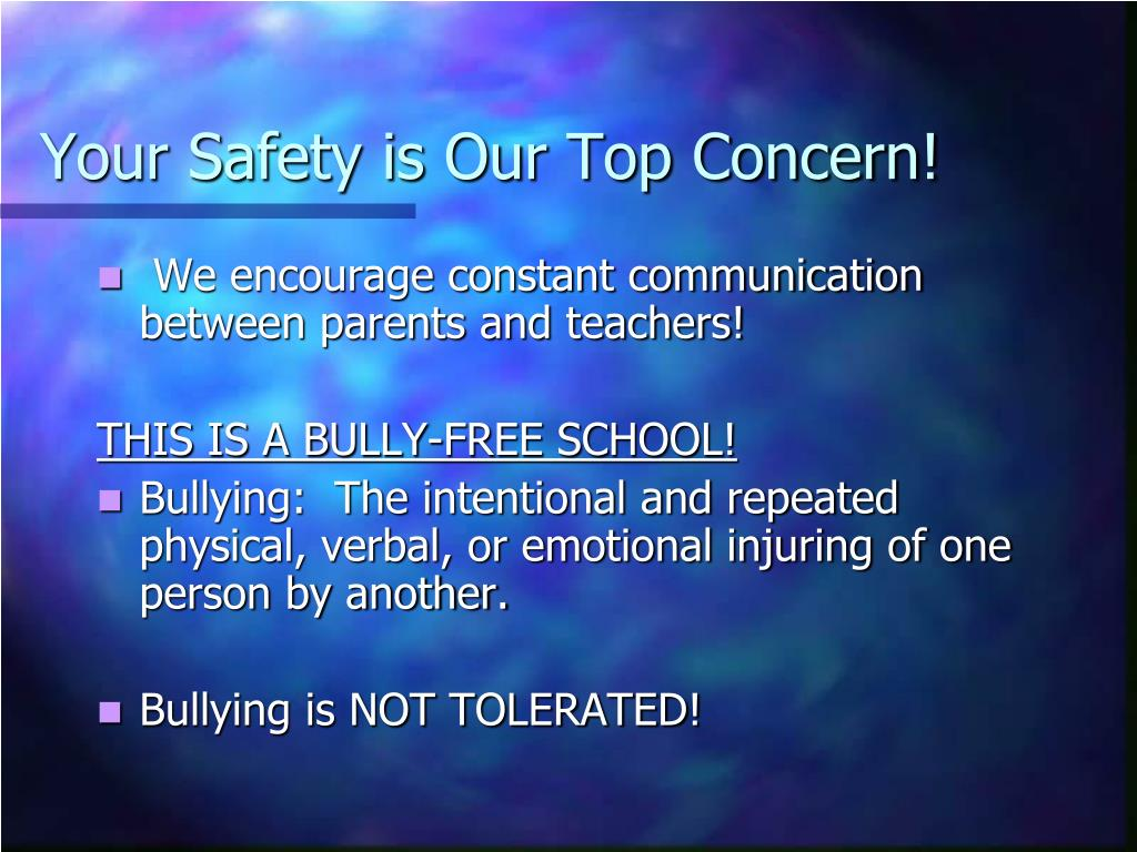 Your Safety is Our Top Concern!