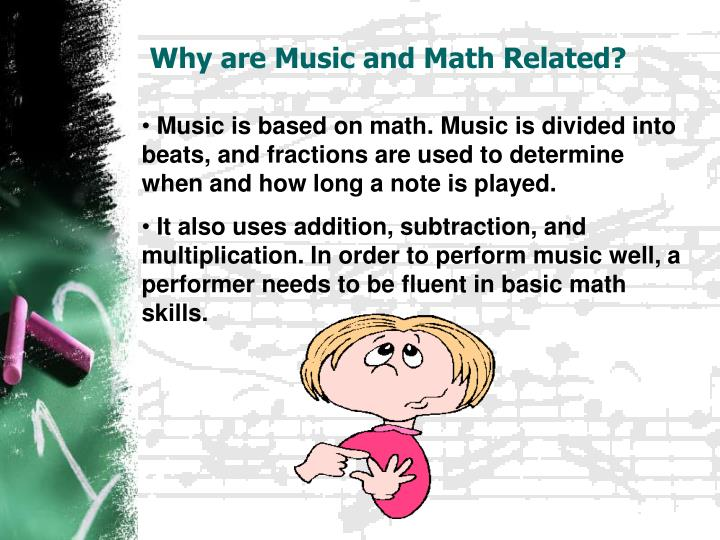 Why are Music and Math Related?