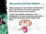 why are music and math related