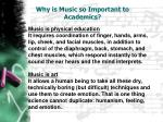 why is music so important to academics2