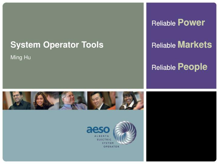 System Operator Tools