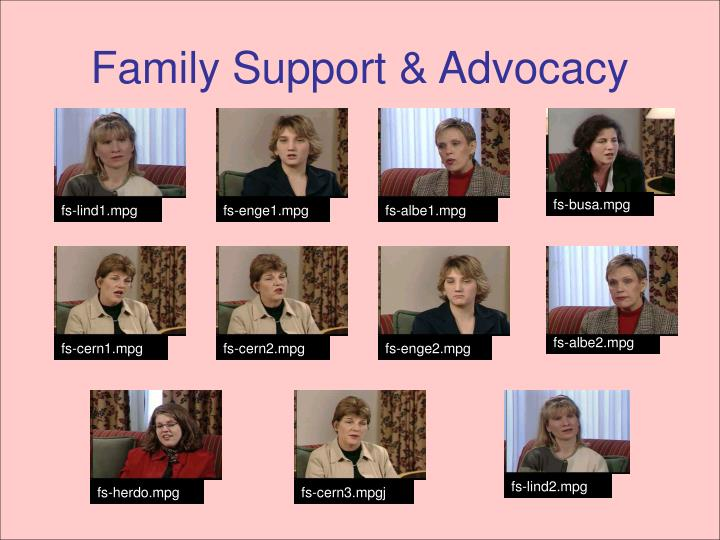 Family Support & Advocacy