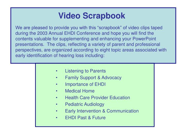 Video Scrapbook