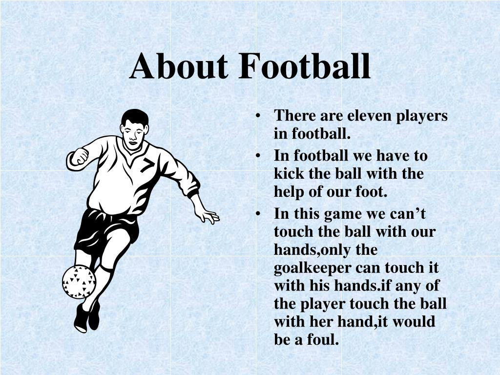 About Football