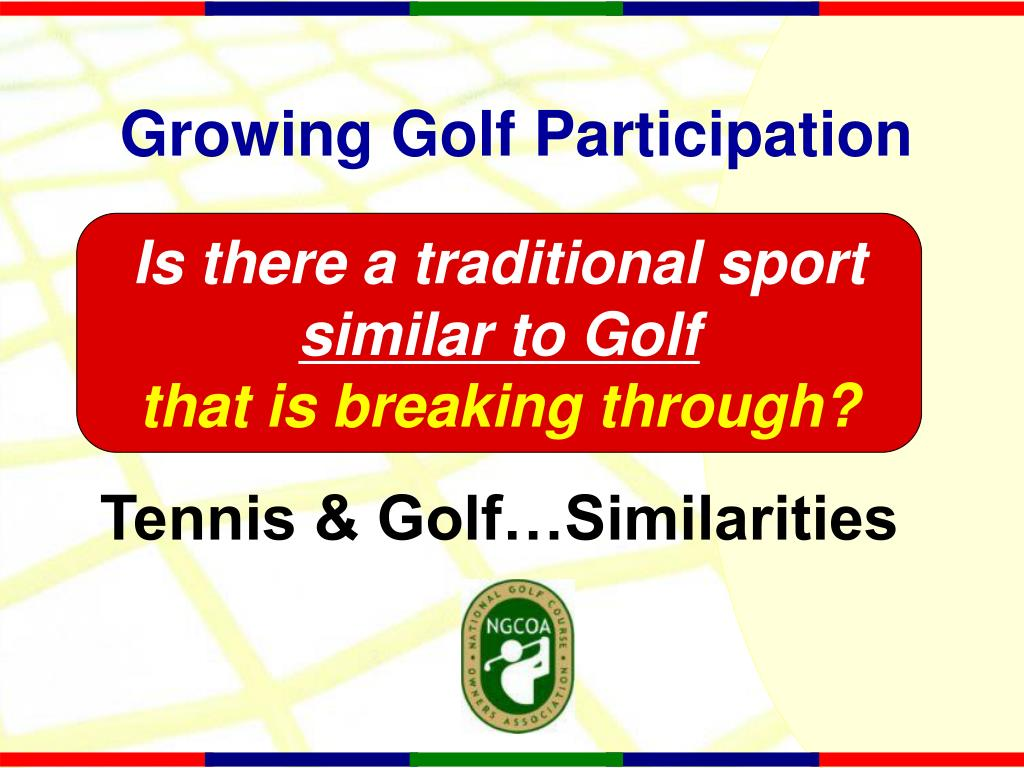 Growing Golf Participation