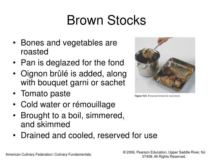 Brown Stocks