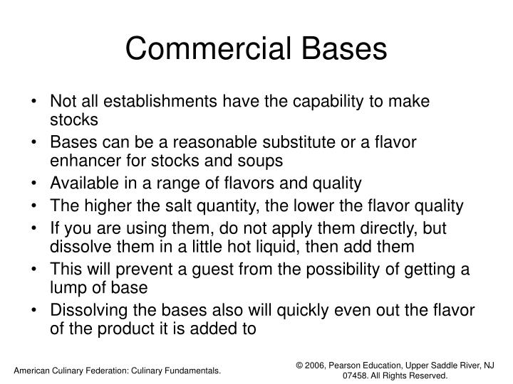 Commercial Bases