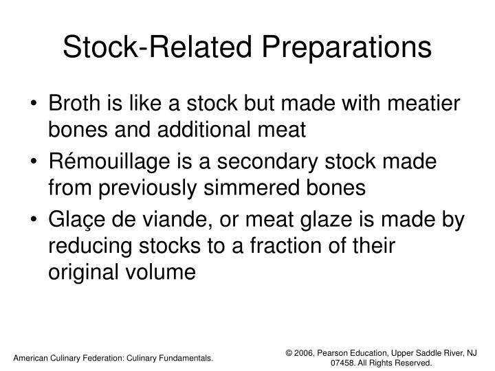 Stock-Related Preparations