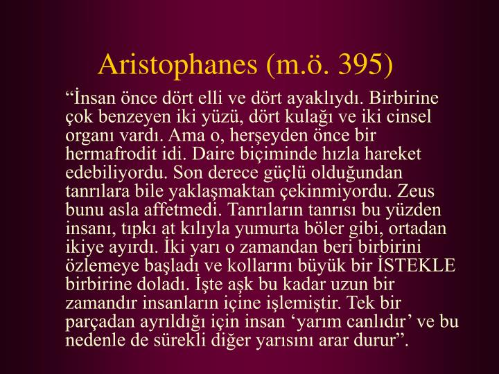 Aristophanes m 395