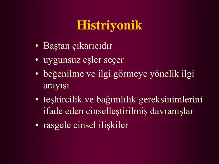 Histriyonik