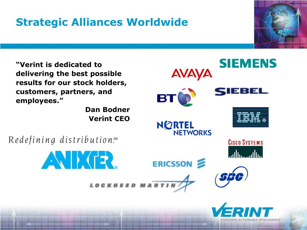 Strategic Alliances Worldwide