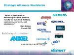 strategic alliances worldwide
